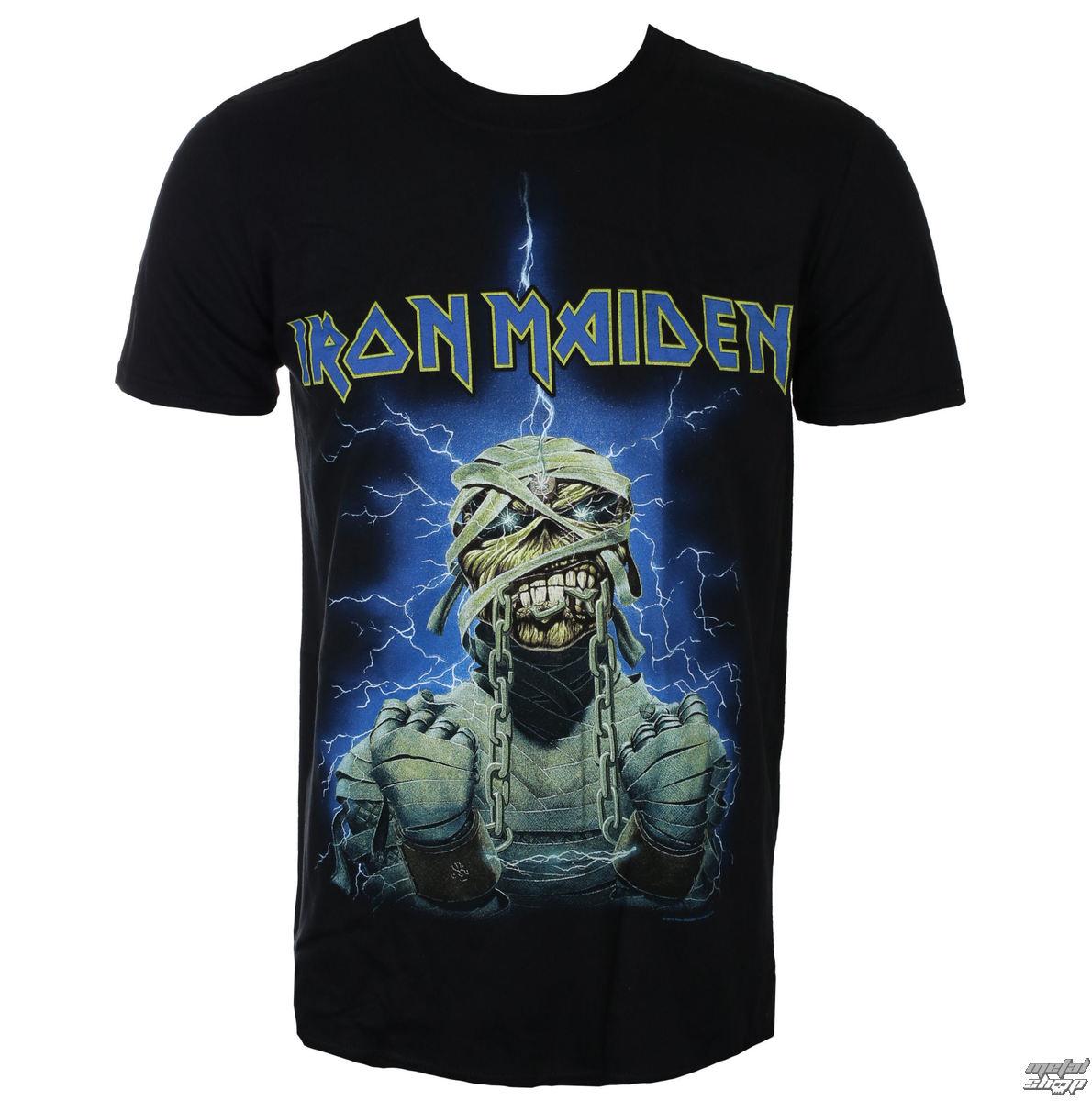 tričko pánské Iron Maiden - Powerslave Mummy - ROCK OFF