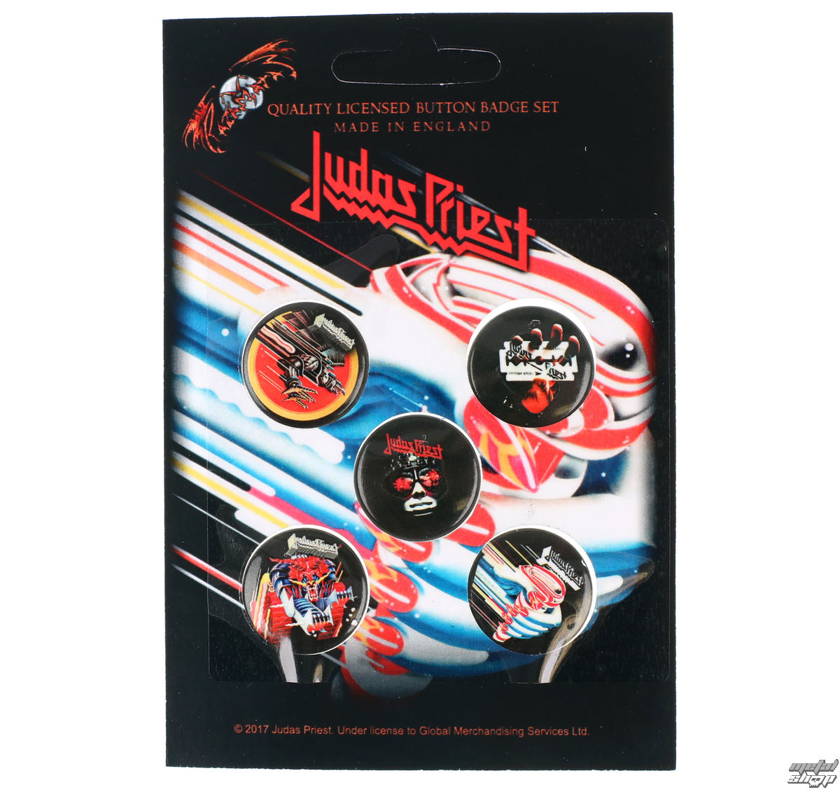 placky Judas Priest - RAZAMATAZ