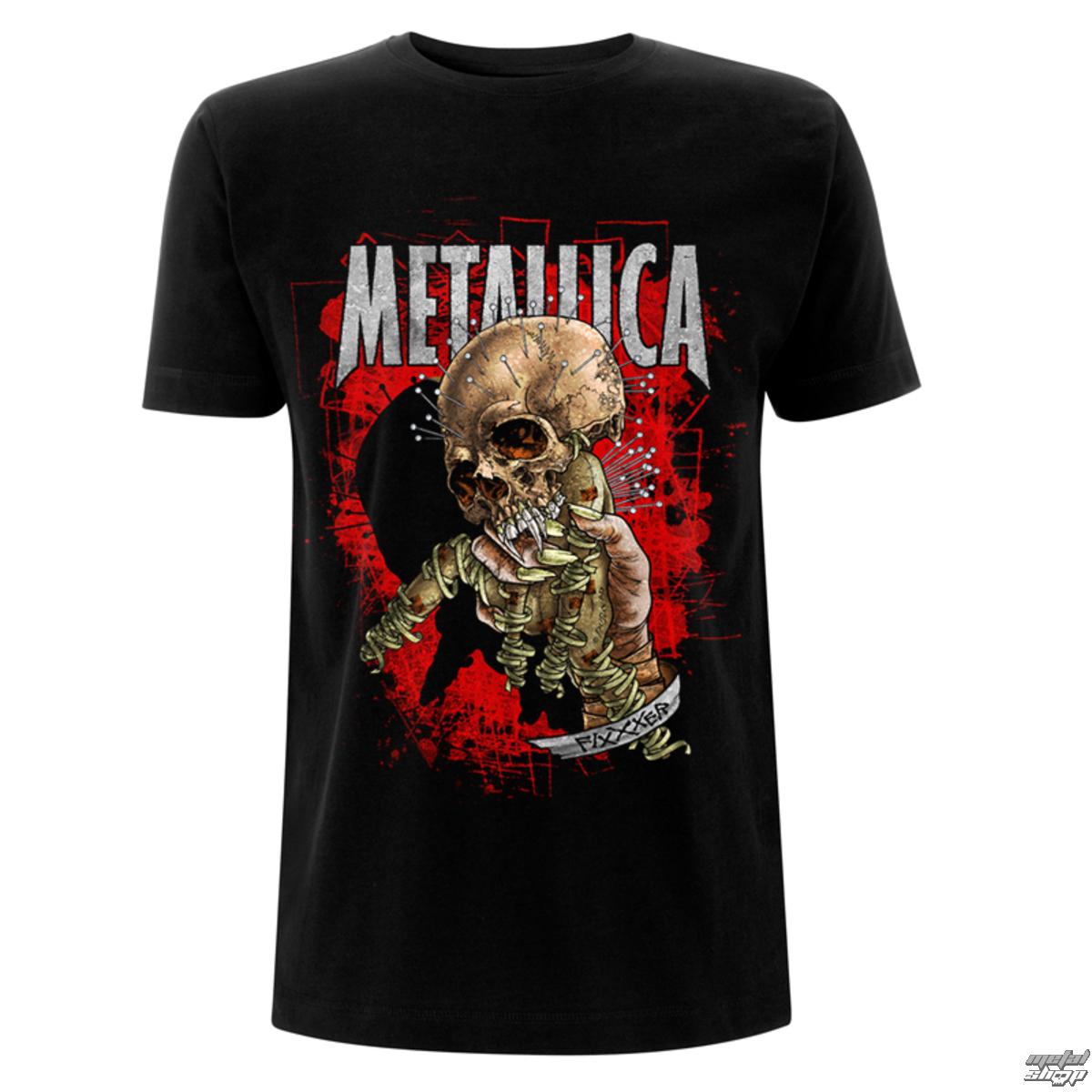 tričko pánské Metallica - Fixxxer Redux - Black