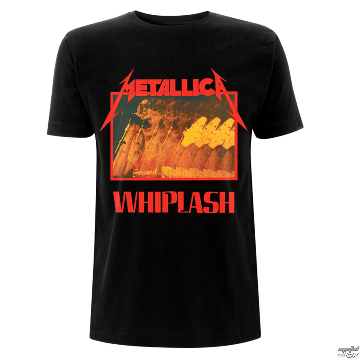 tričko pánské Metallica - Whiplash - Black