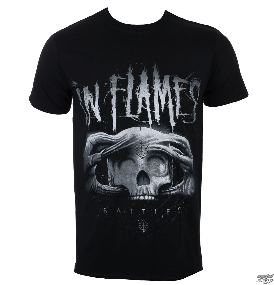 tričko pánské In Flames - Battles 2 Tone - Black - ROCK OFF