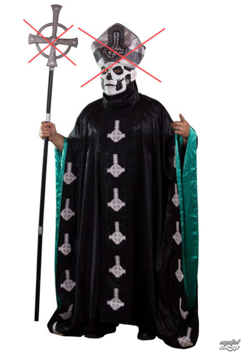 plášť (kostým) Ghost Pope Emeritus II