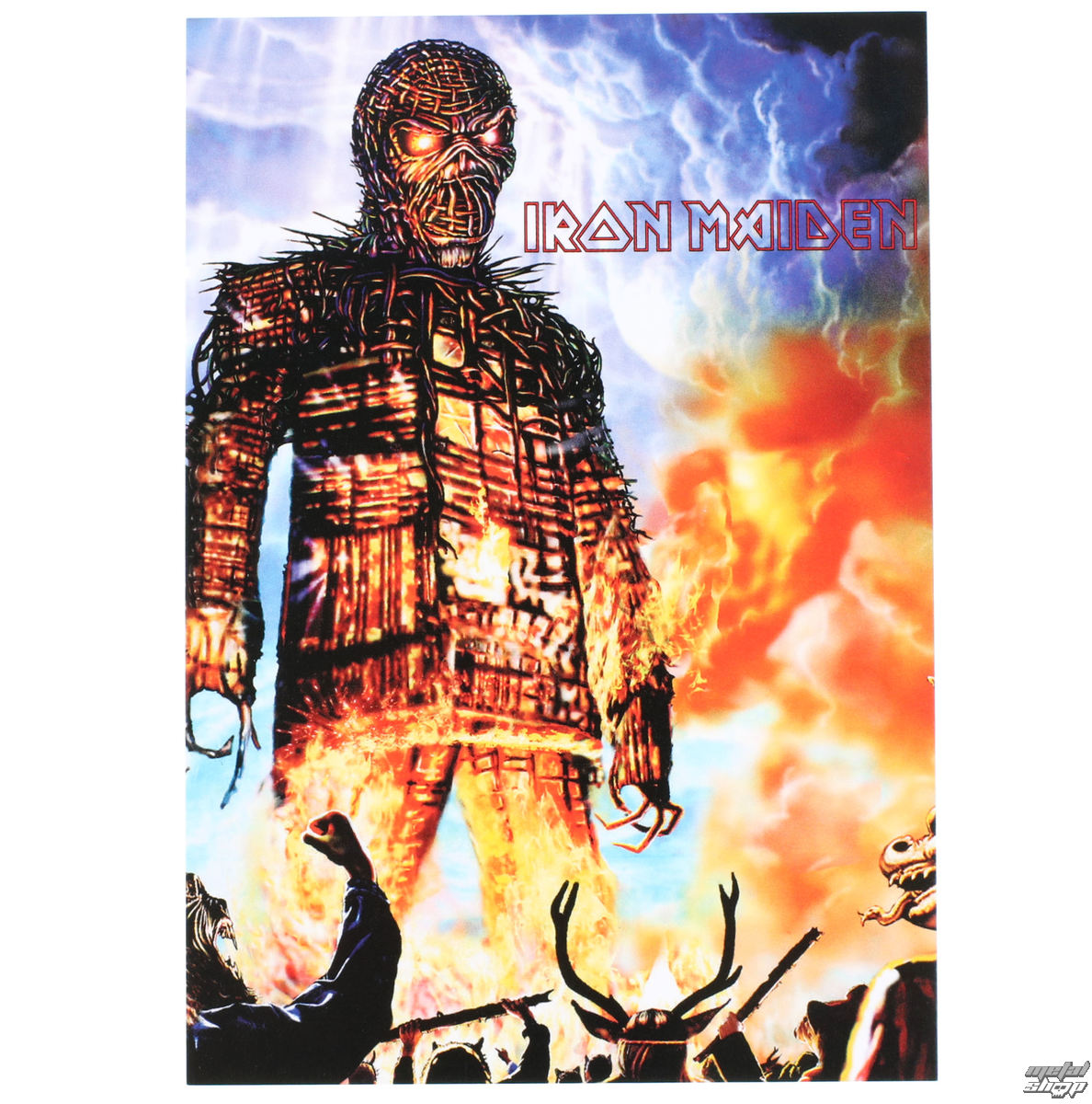 pohlednice Iron Maiden - ROCK OFF