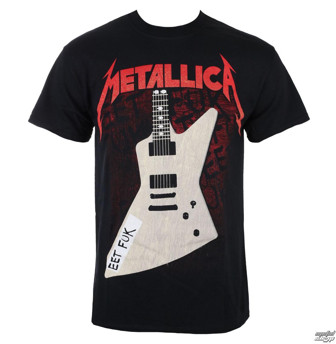 tričko pánské Metallica - Eet Fuk - Black