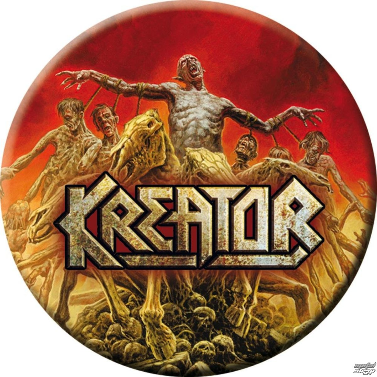 placka KREATOR - Phantom antichrist - NUCLEAR BLAST