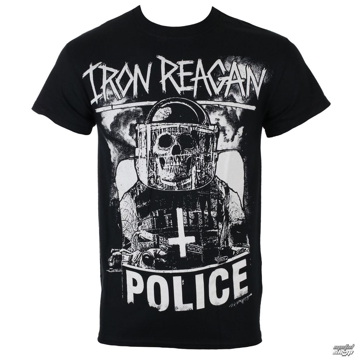 tričko pánské IRON REAGAN - RIOT COP - JSR