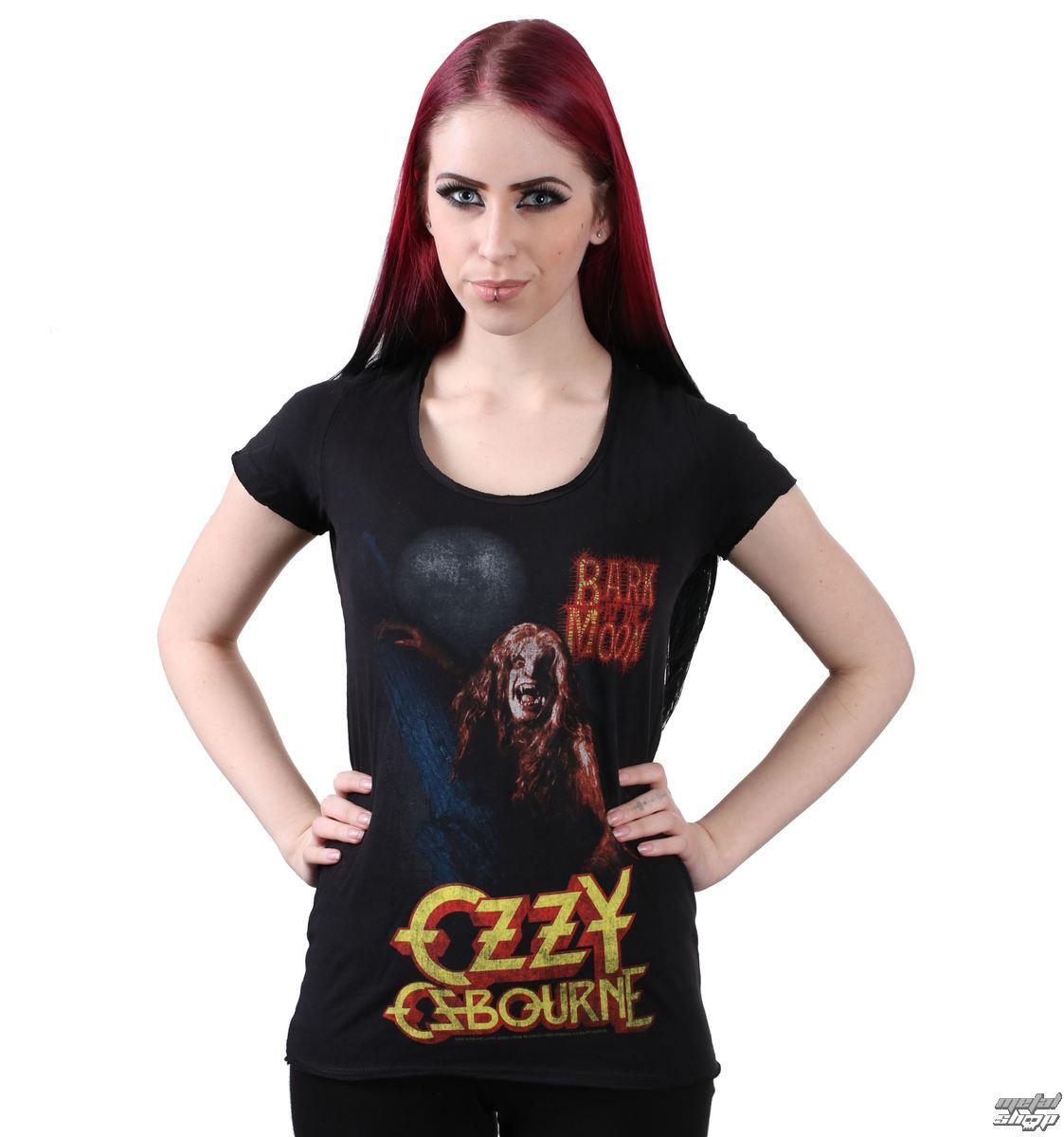 tričko dámské Ozzy Osbourne - Bark At The Moon - AMPLIFIED