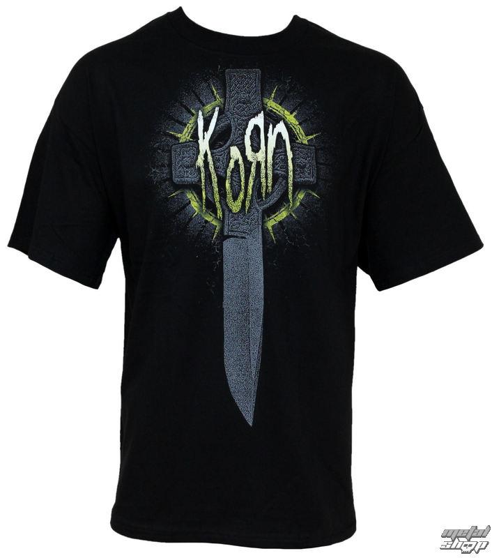 tričko pánské Korn - Cross Knife - BRAVADO