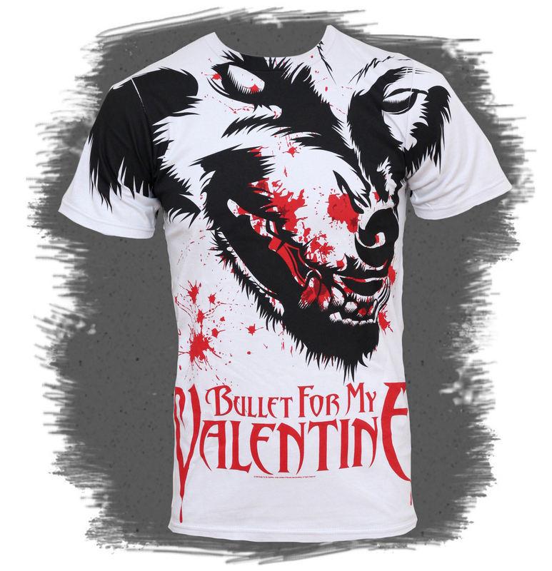 tričko pánské Bullet For My Valentine - Werewolf AO 30/1 - BRAVADO