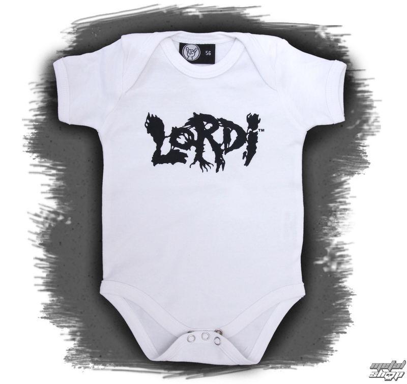 body dětské Lordi - Logo - White - Metal-Kids