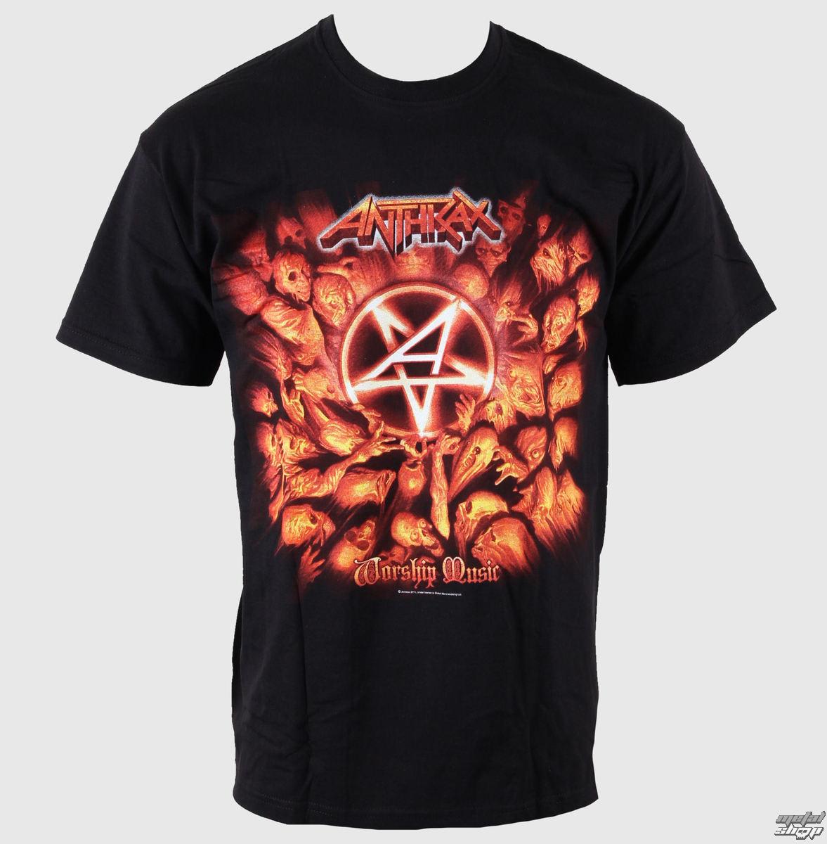 tričko pánské Anthrax - Worship Music - ROCK OFF