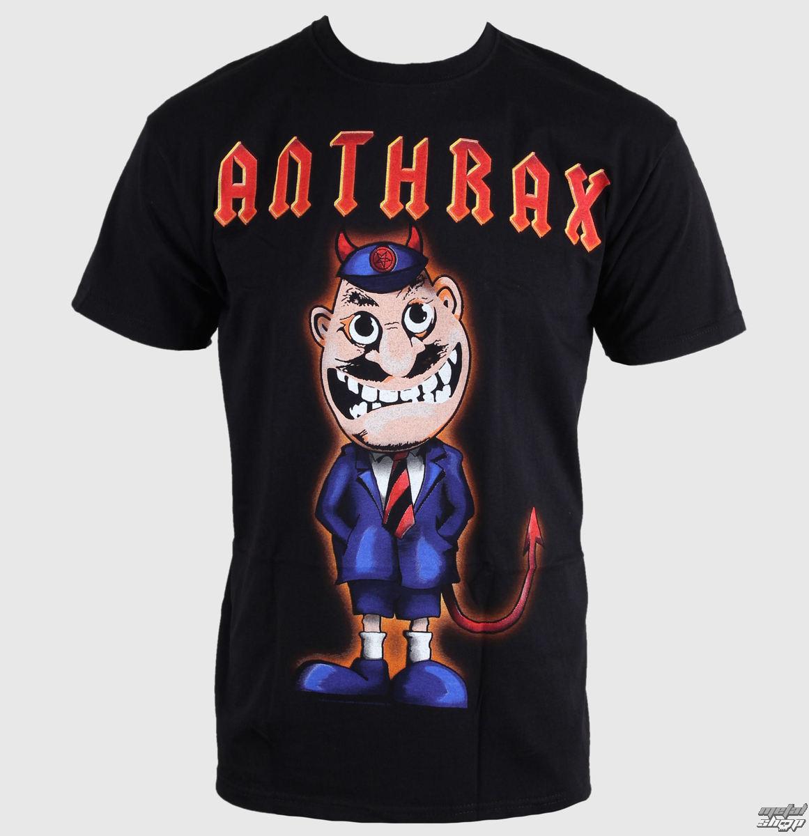 tričko pánské Anthrax - TNT Cover - ROCK OFF