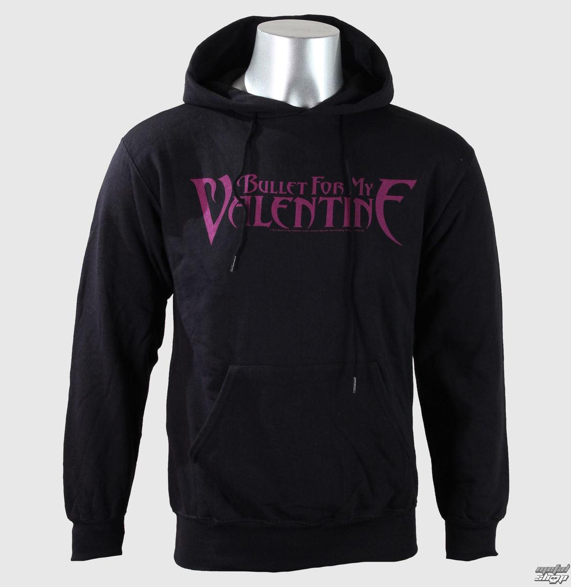 mikina pánská Bullet For My Valentine - Logo - Blk - BRAVADO EU