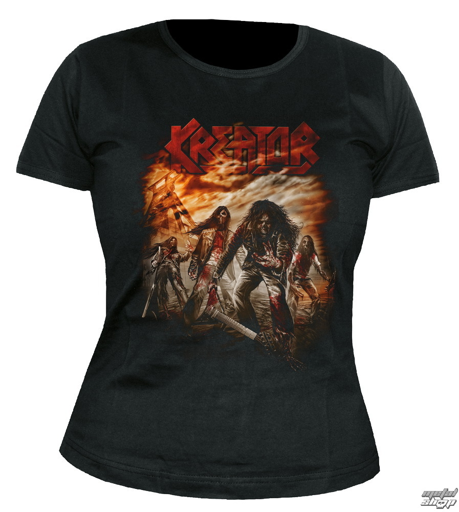 tričko dámské Kreator - Dying Alive - NUCLEAR BLAST