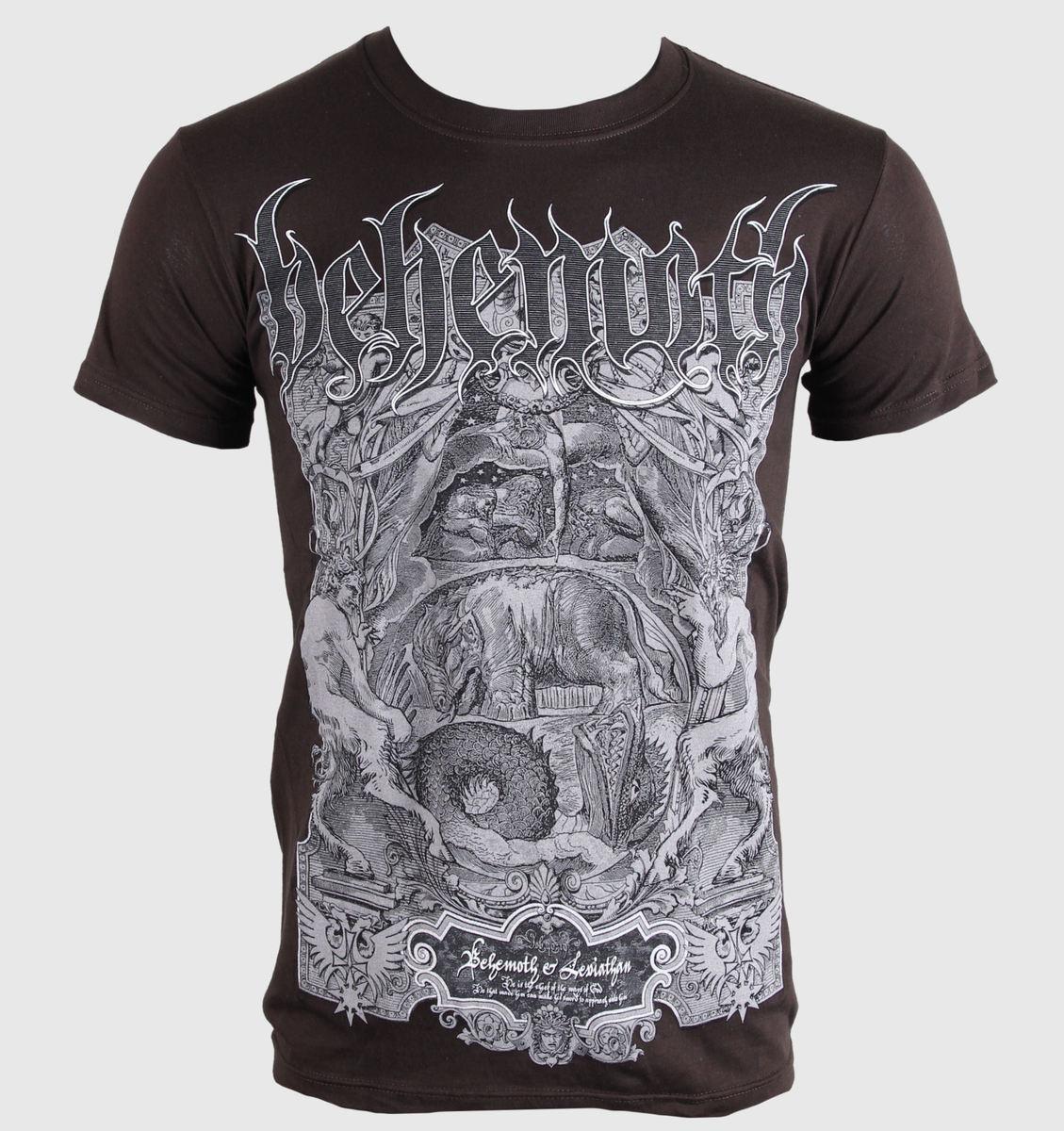 tričko pánské Behemoth - Leviathan - PLASTIC HEAD