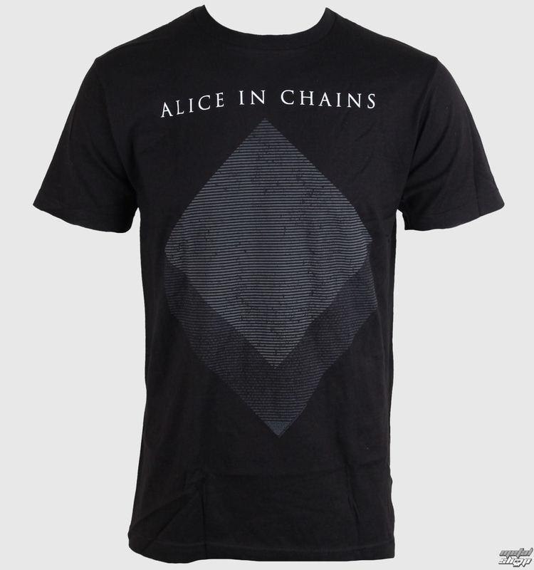 tričko pánské Alice In Chains - Bicubic - Black - BRAVADO