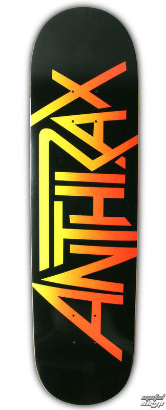 skateboard Anthrax - Logo - HLC
