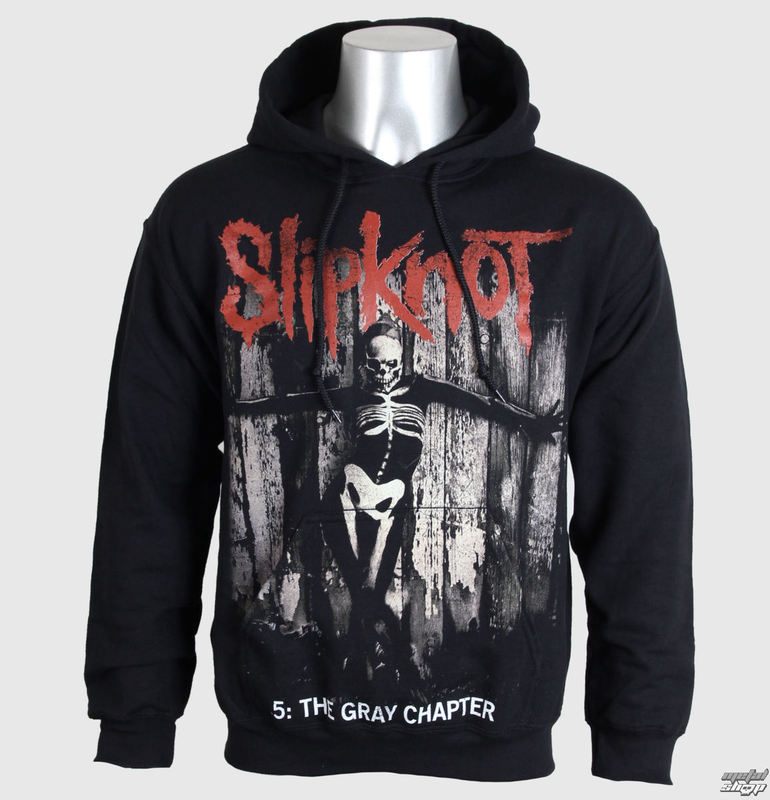 mikina pánská Slipknot - 5 The Gray Chapter - Blk - BRAVADO EU