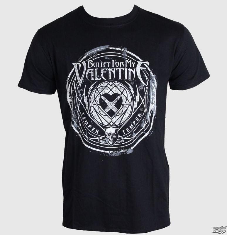 tričko pánské Bullet For My Valentine - Time To Explode - Black - ROCK OFF