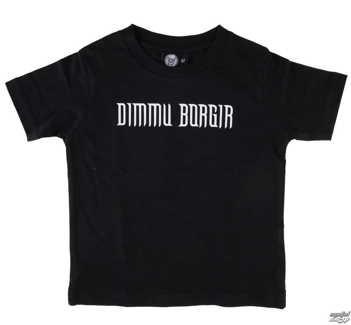 tričko dětské Dimmu Borgir - Logo - Black - Metal-Kids