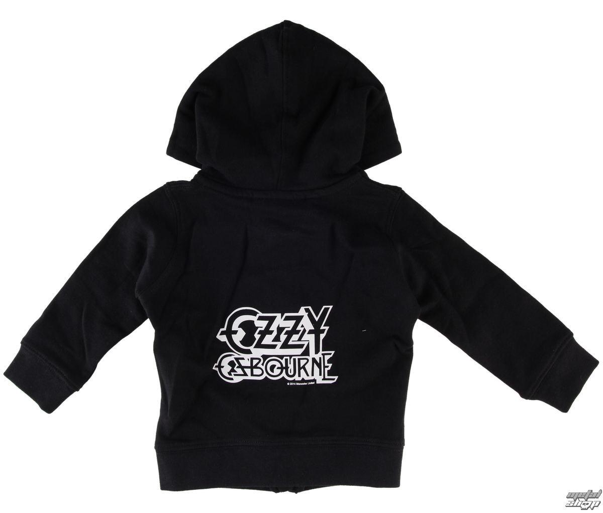 mikina dětská Ozzy Osbourne - Logo - Metal-Kids