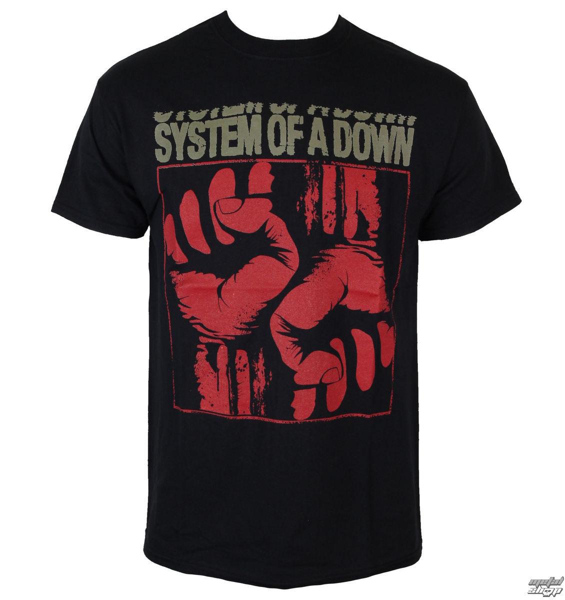 tričko pánské System Of A Down - Fistacuff - ROCK OFF