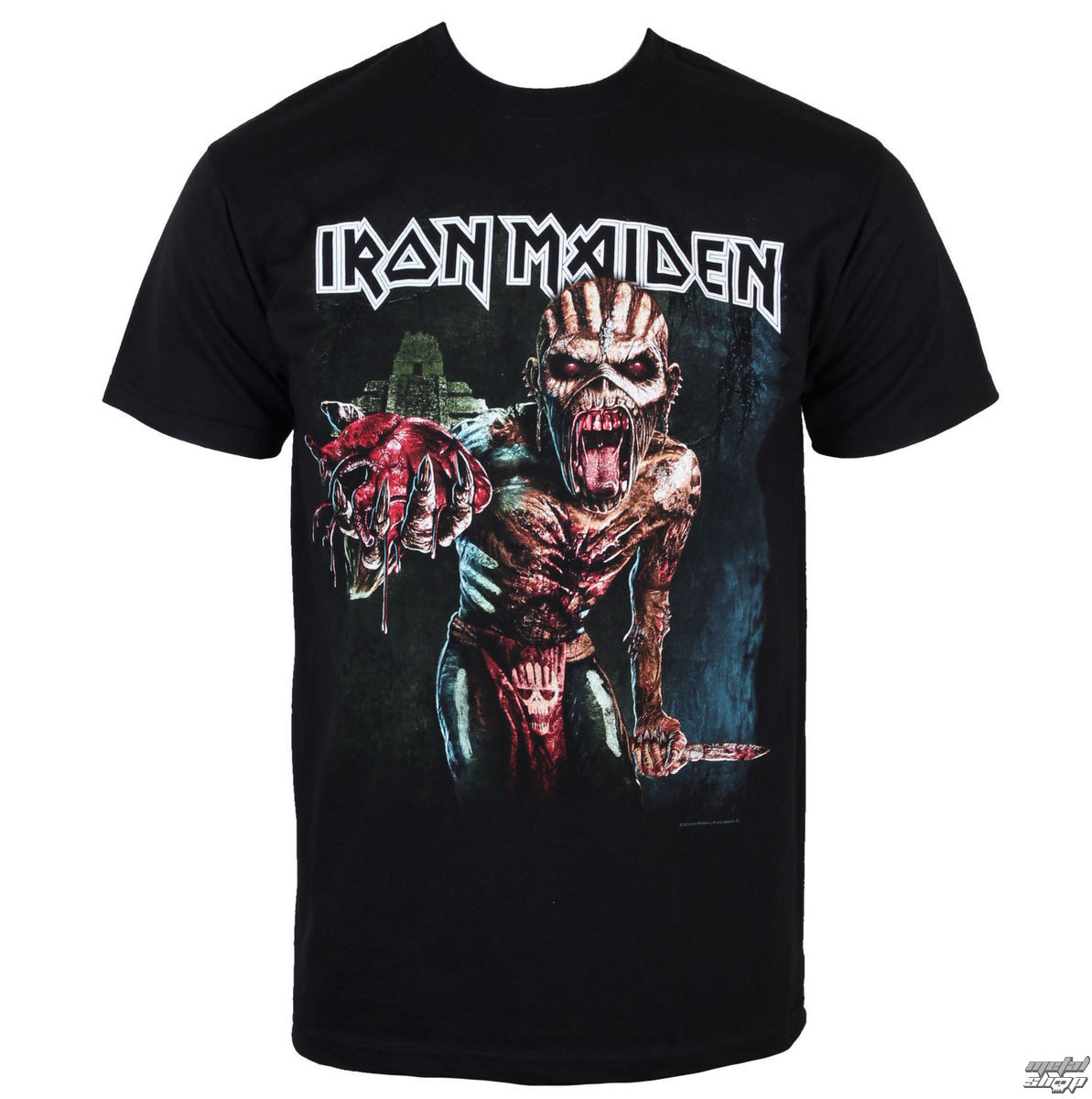 tričko pánské Iron Maiden - Book of souls Euro Tour 2016 - ROCK OFF