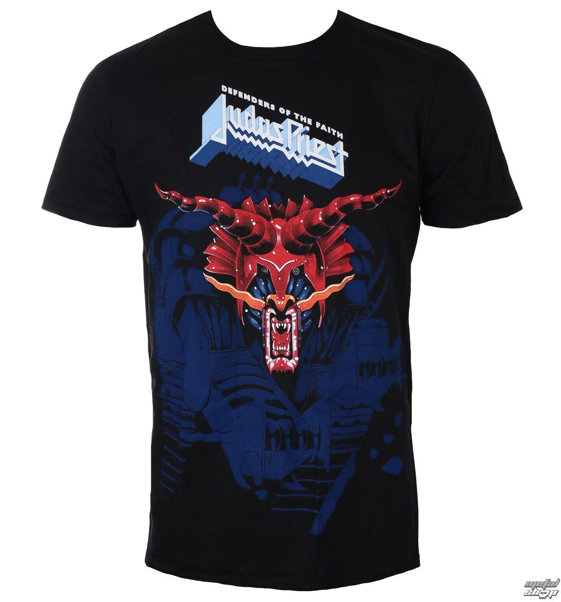 tričko pánské Judas Priest - Defenders Blue - ROCK OFF