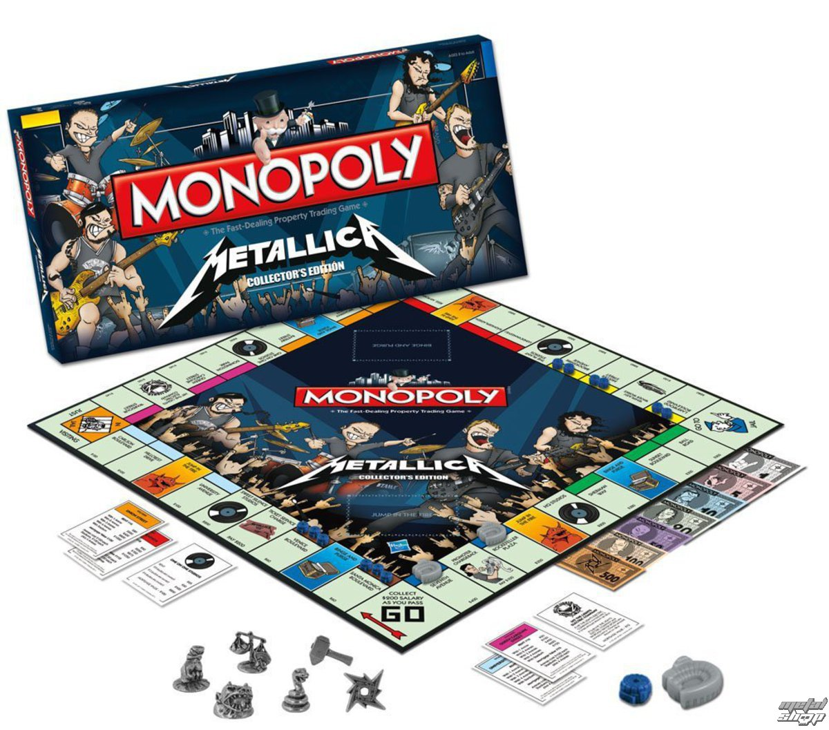 hra Metallica - Rock Band Monopoly