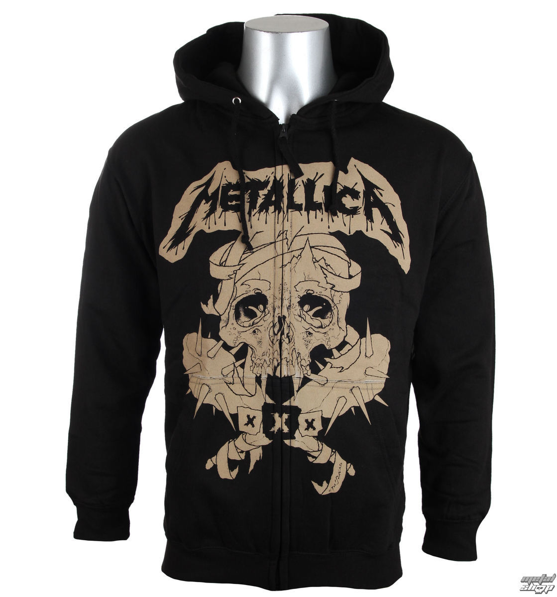 mikina pánská Metallica - Fillmore - Black