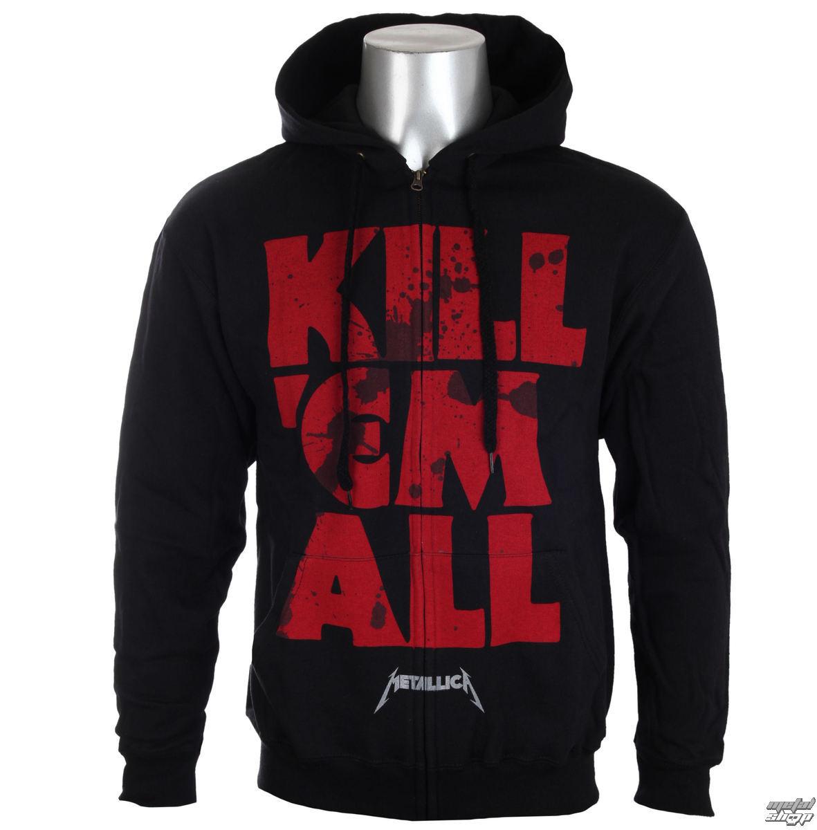 mikina pánská Metallica - Mutated Kill Em All Mutated Black