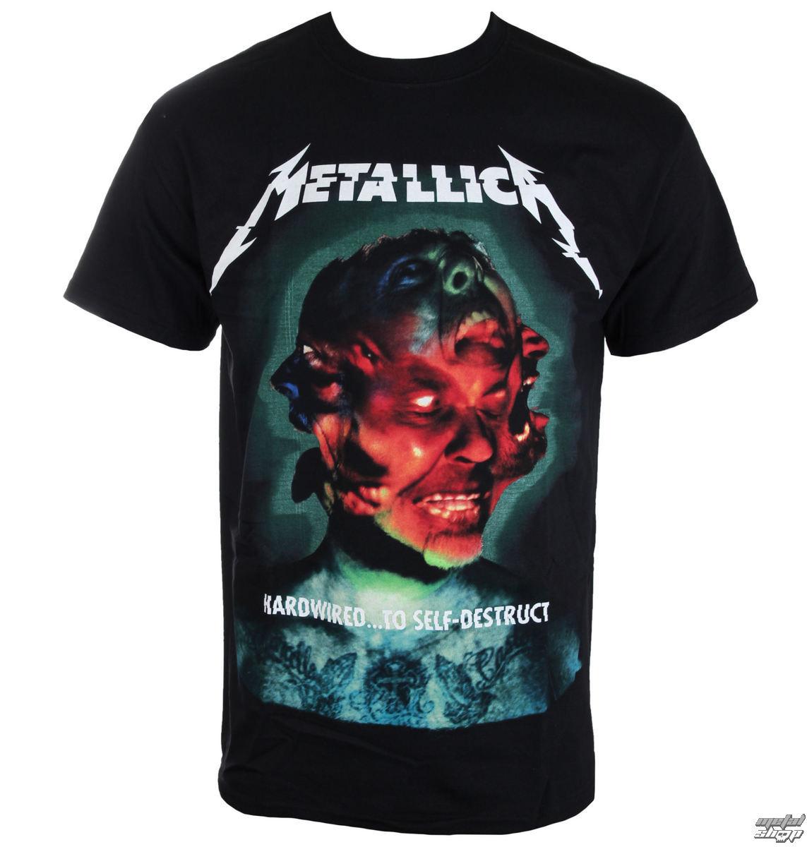 tričko pánské Metallica - Hardwired Album Cover