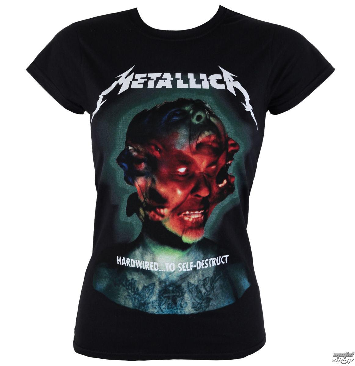 tričko dámské Metallica - Hardwired Album Cover