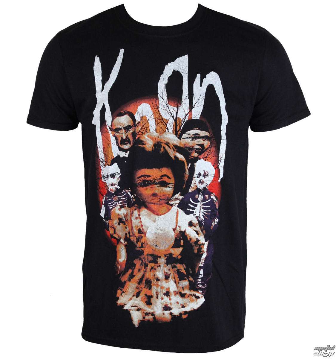tričko pánské Korn - Dolls - PLASTIC HEAD