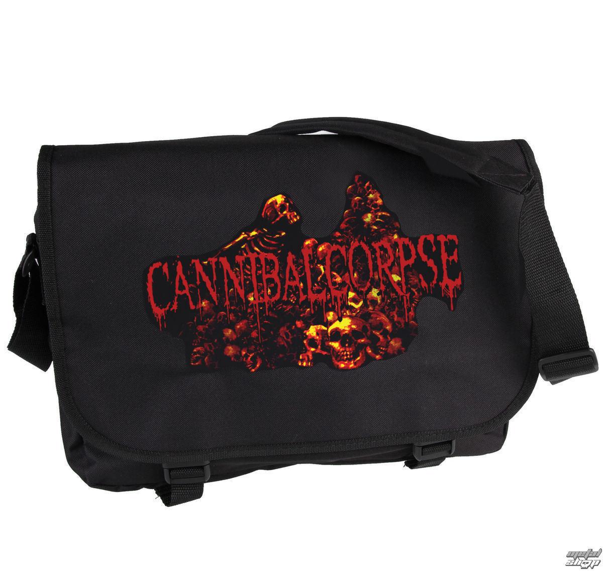 taška Cannibal Corpse - Pile Of Skulls - PLASTIC HEAD