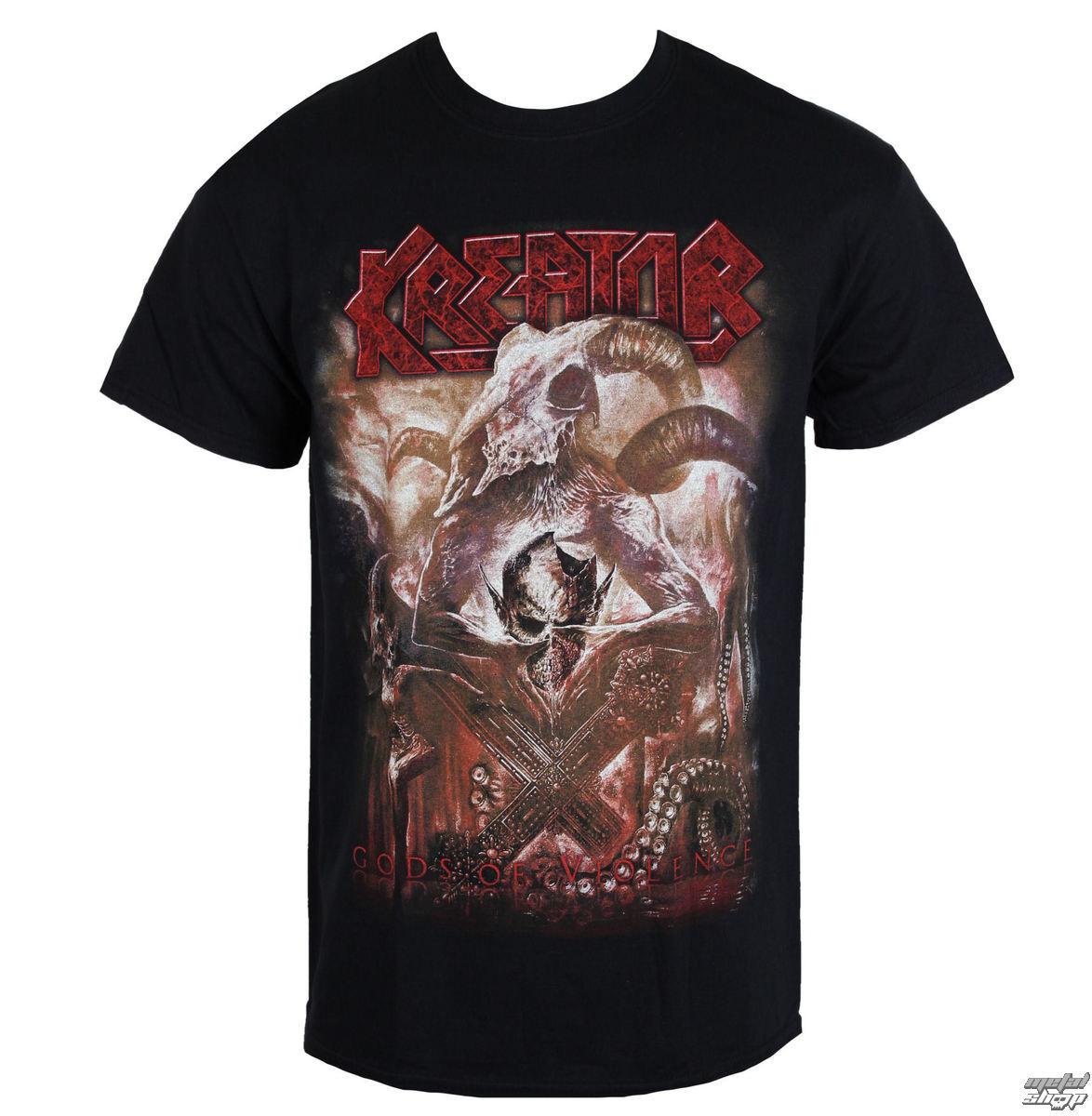 tričko pánské KREATOR - GODS OF VIOLENCE - RAZAMATAZ