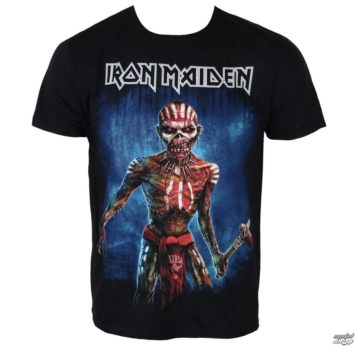 tričko pánské Iron Maiden - Black - ROCK OFF