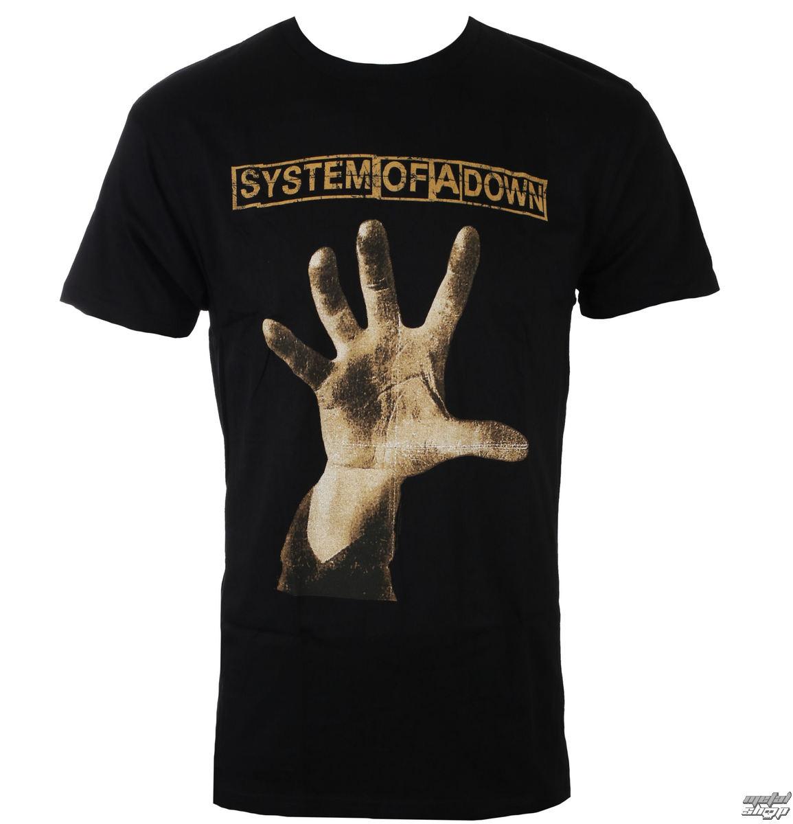 tričko pánské System of a Down - HAND - BRAVADO