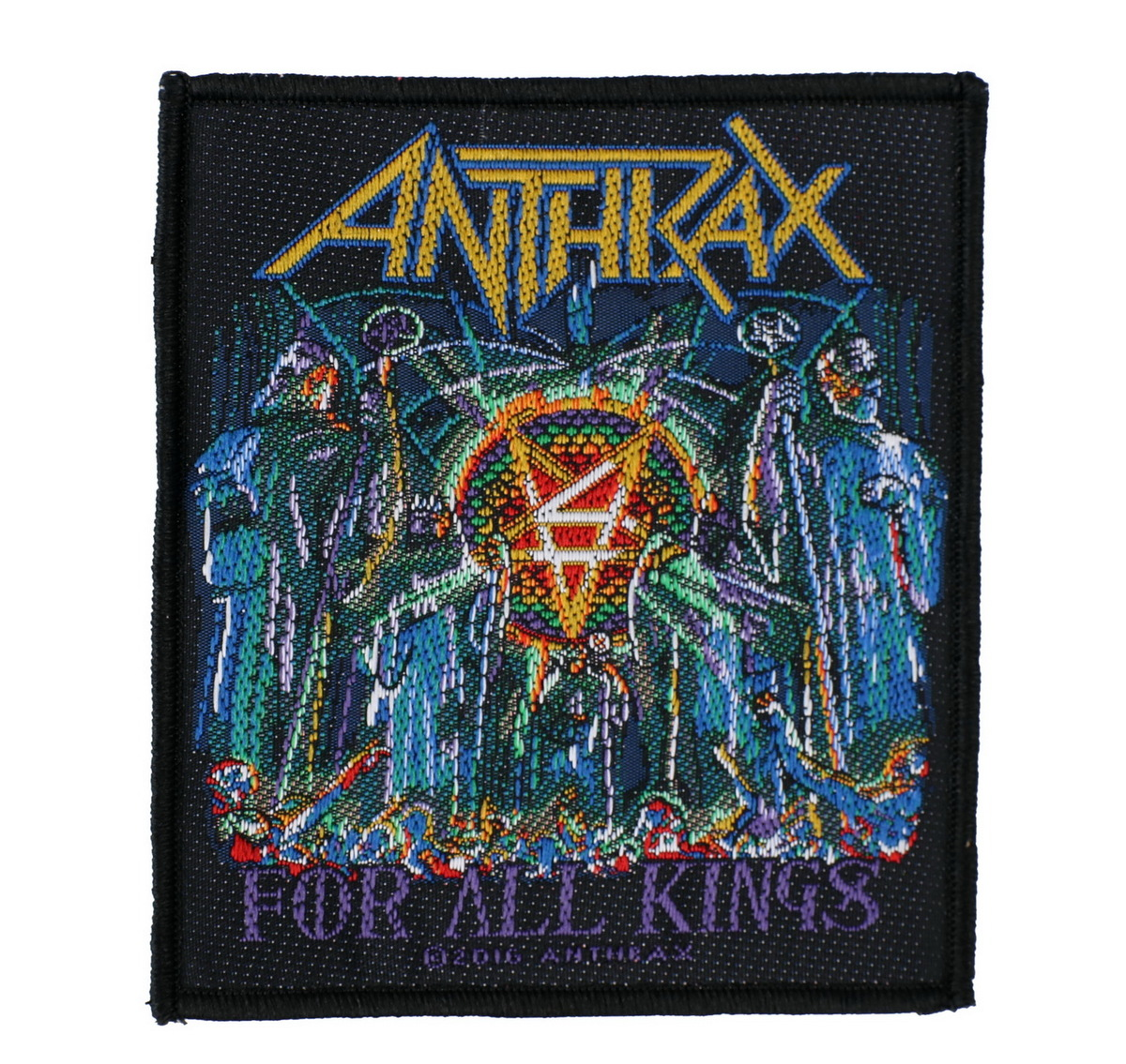 nášivka ANTHRAX - FOR ALL KINGS - RAZAMATAZ