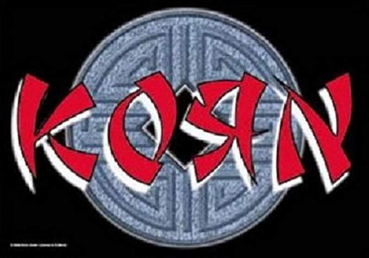 vlajka Korn - Ball Logo