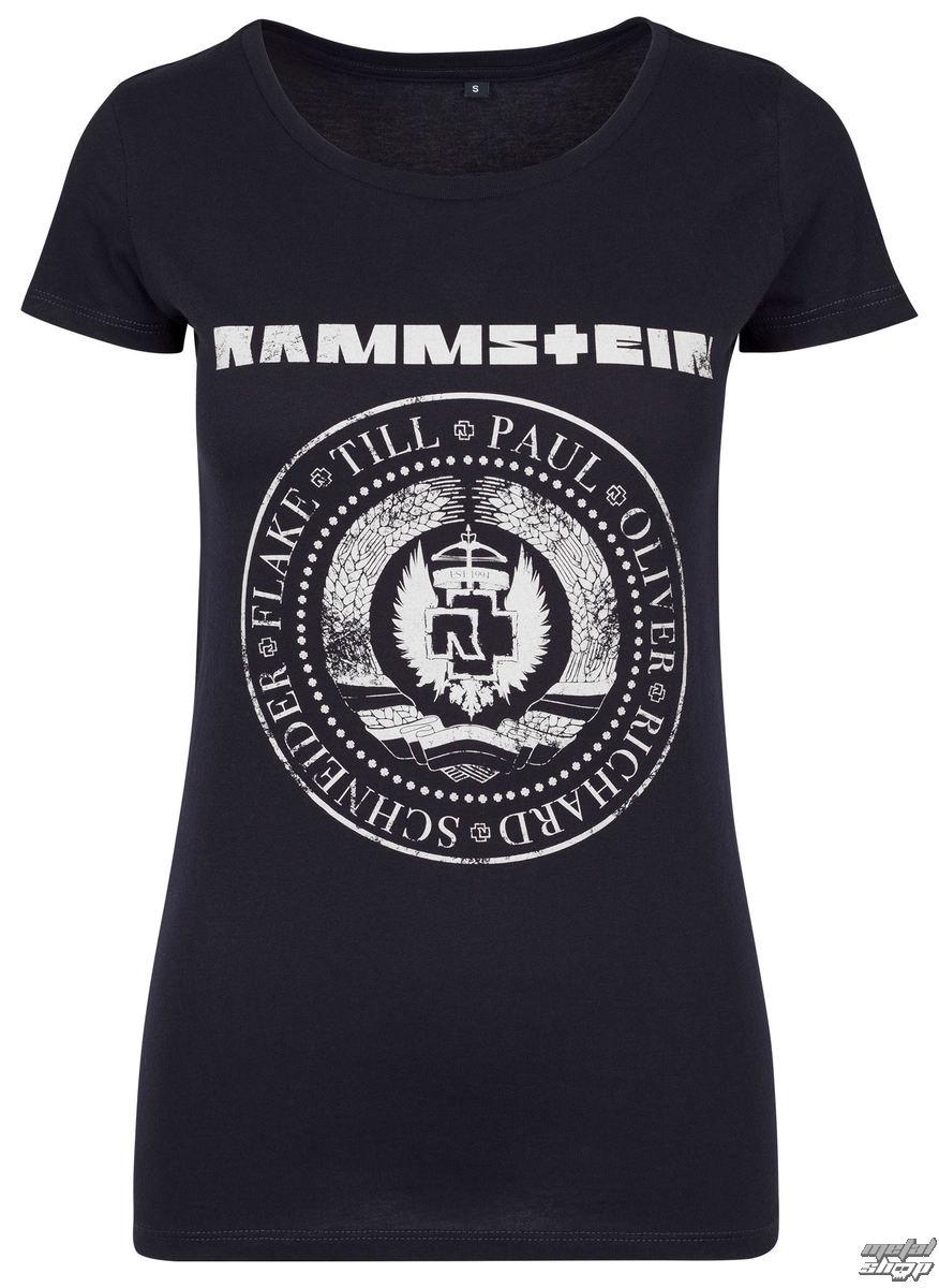 tričko dámské RAMMSTEIN - st. 1994 - navy