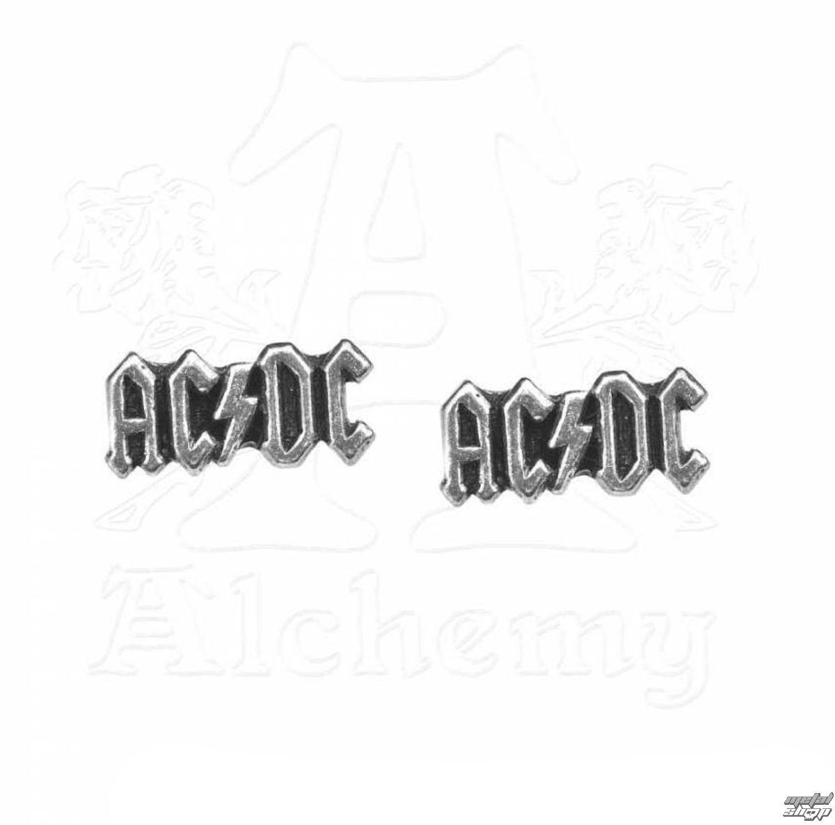 náušnice AC/DC - Logo - ALCHEMY GOTHIC