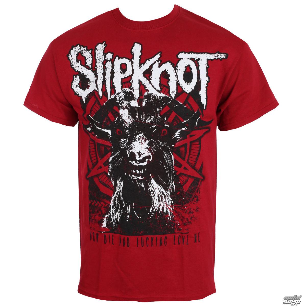 tričko pánské SLIPKNOT - Goat thresh - NUCLEAR BLAST
