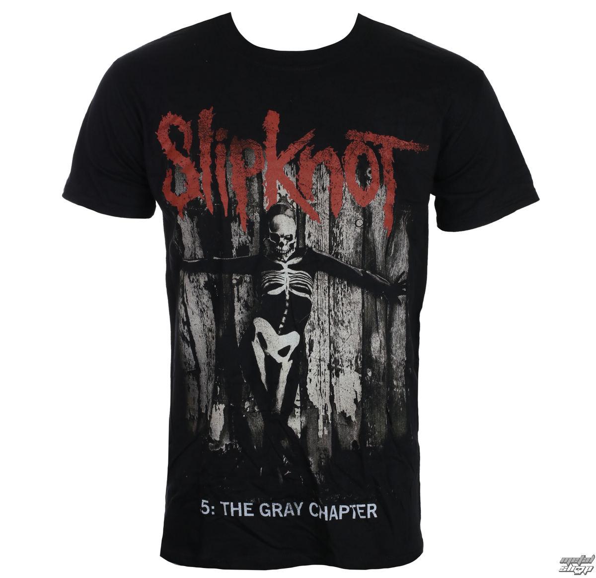 tričko pánské Slipknot - Gray Chapter - Blk - ROCK OFF
