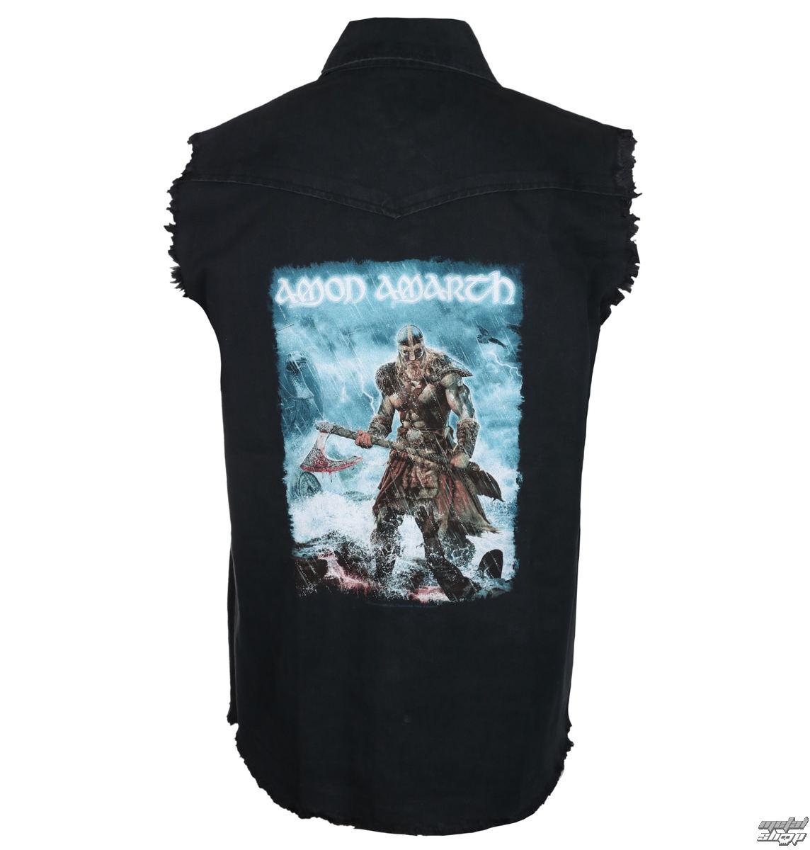 košile pánská bez rukávů (vesta) AMON AMARTH - JOMSVIKING - RAZAMATAZ