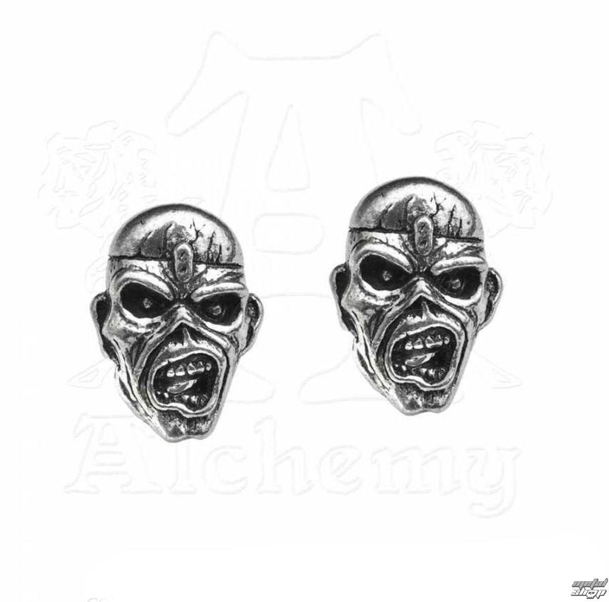 náušnice Iron Maiden - Eddie Head - ALCHEMY GOTHIC