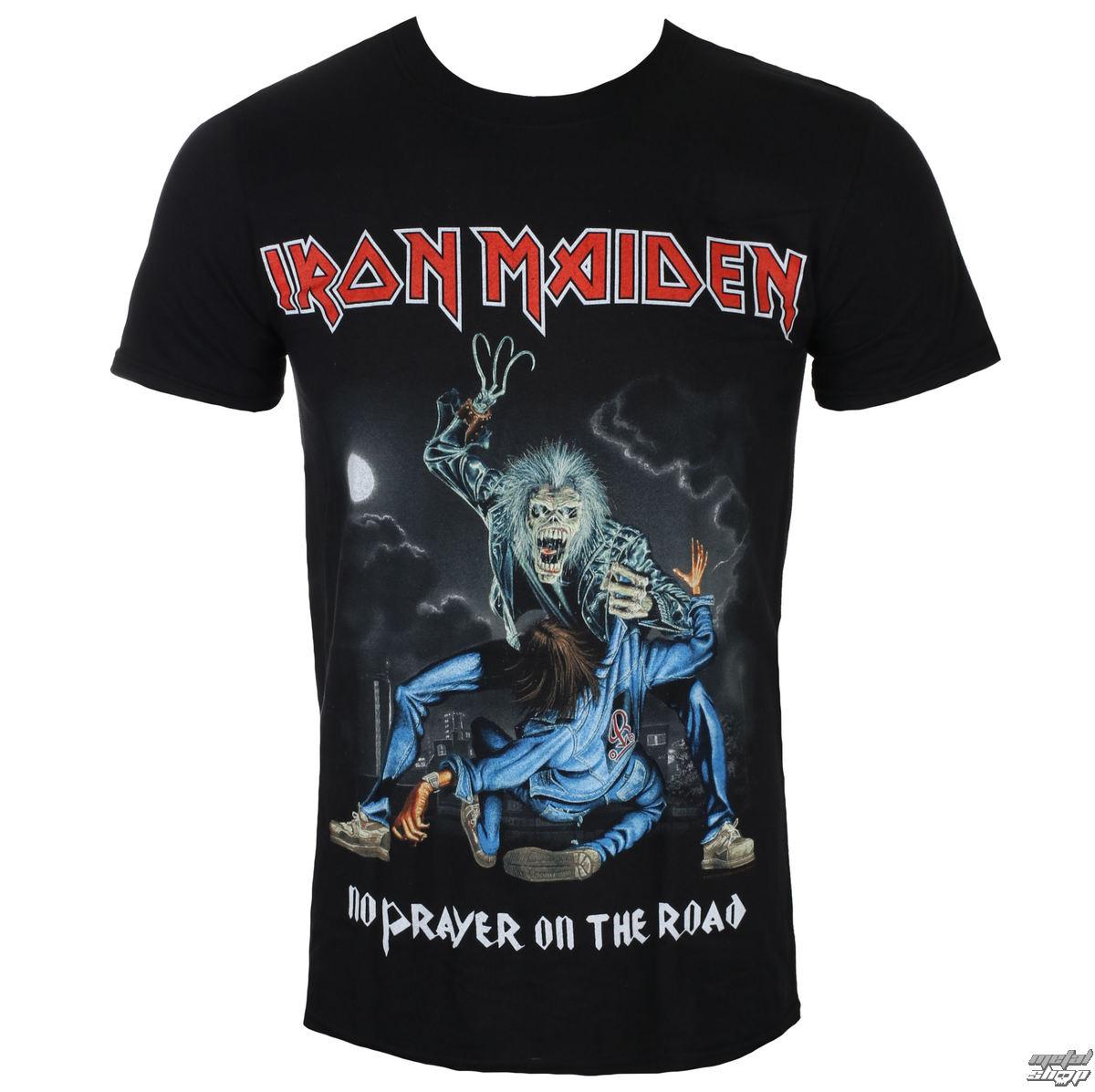 tričko pánské Iron Maiden - No Prayer On The Road - Black - ROCK OFF