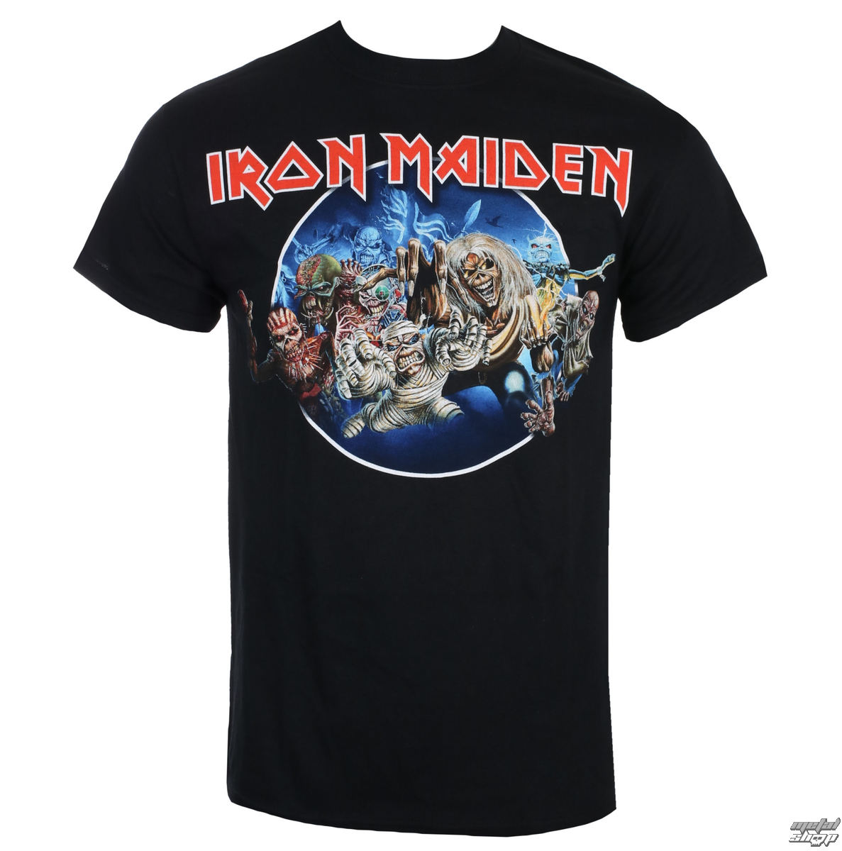 tričko pánské Iron Maiden - Wasted Years - Black - ROCK OFF