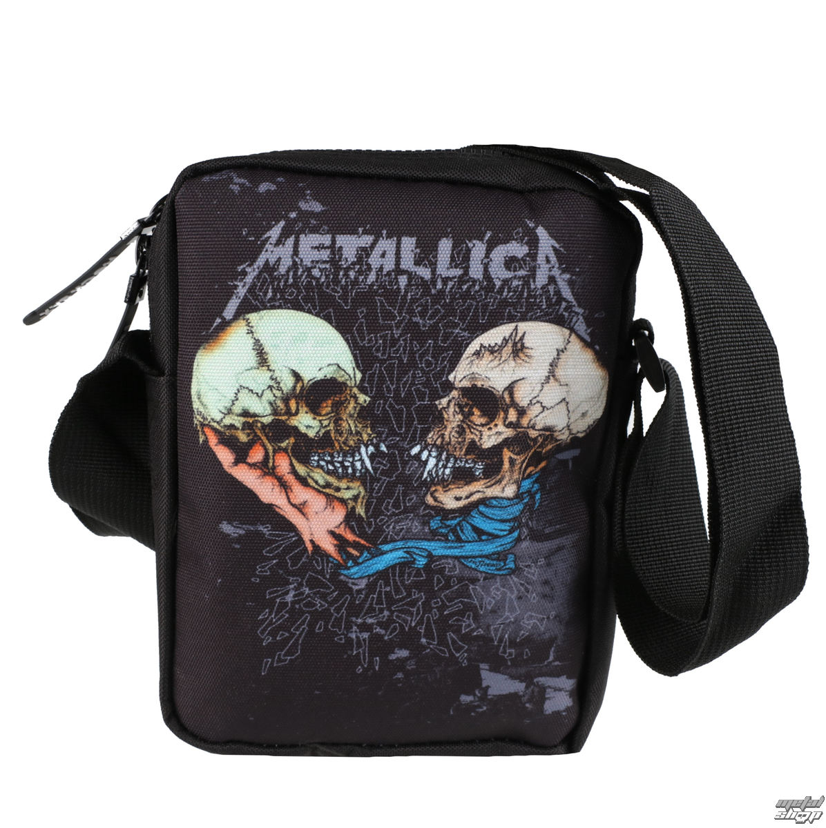 taška METALLICA - SAD BUT TRUE - CROSSBODY