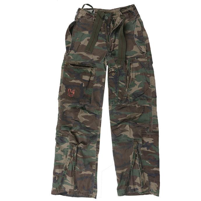 kalhoty SURPLUS - Infantry - WOODLAND